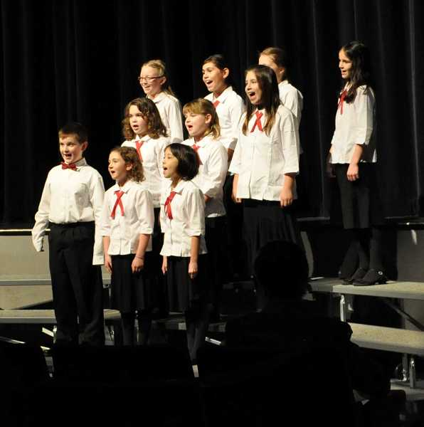 by: COURTESY PHOTO: BETH DRENNEN - Members of the Hillsboro Community Youth Choir sang their hearts out at their December concert, and plan to do so again this Saturday.