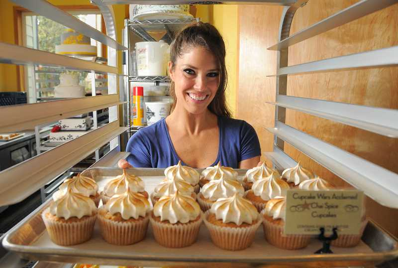 by: VERN UYETAKE - Kyra Bussanich is changing the name of her gluten-free bakery in downtown Lake Oswego. The small shop also settled a federal trademark lawsuit last week.
