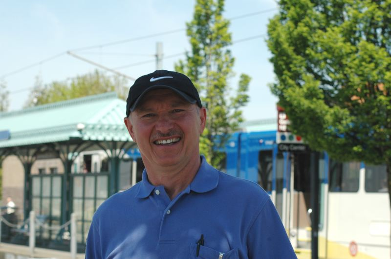 by: PHOTO COURTESY: TRIMET - Ivan Semenyuk, from Happy Valley, is now a two-time winner of the Rail Operator of the Year award.