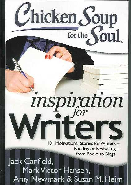 by: SUBMITTED - Lake Oswego author Samantha Ducloux Waltz has a story featured in the newest anthology in the Chicken Soup for the Soul series, Chicken Soup for the Soul: Inspiration for Writers. The book is available at bookstores and online.