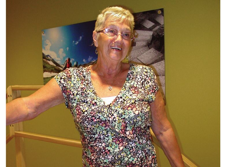 by: PHOTO: MERRY MACKINNON - Three days after 70-year-old Judy Hampton's hip replacement surgery at Adventist Health Aspire Orthopedic Institute, the swelling went down and she was able to get into her jeans. Soon she could do things, such as sit in and drive her sports car, that previously were too painful.