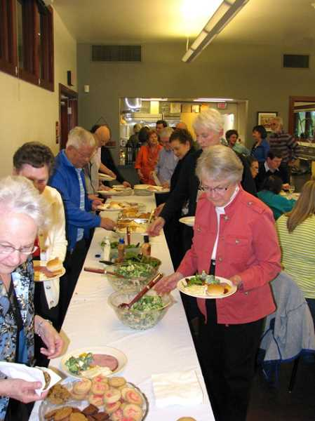 by: SUBMITTED PHOTO - A dinner was recently held at the WLACC in appreciation of the hours volunteers put into serving at the center.