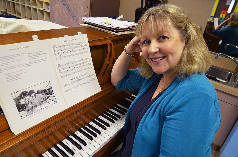 by:  VERN UYETAKE - Donna Kagan will retire after teaching music for 23 years in the West Linn-Wilsonville School District.