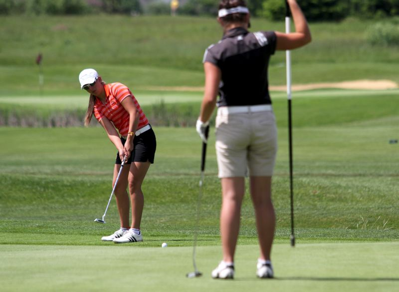 by: TIMES PHOTO: JONATHAN HOUSE - Beaverton's Gigi Stoll has all the makings of a future LPGA player though she'll attend a four-year university and continue her education.