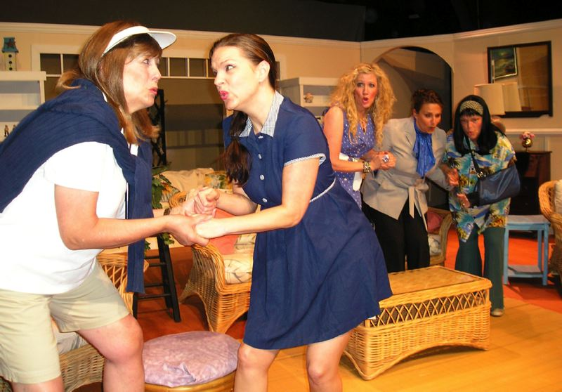 by: COURTESY PHOTO: THEATRE IN THE GROVE - Head to Theatre in the Grove to see the Dixie Swim Club.