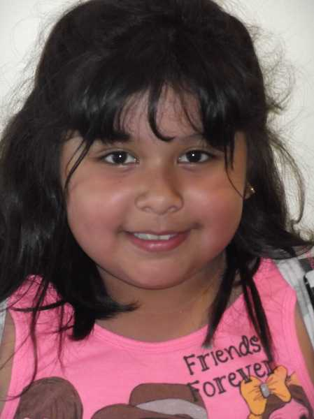 Sarahi Zuniga, second grade