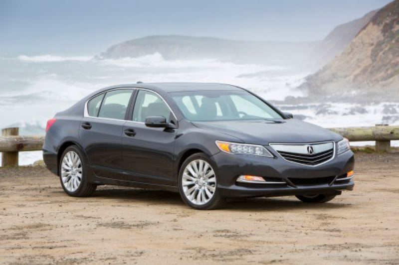 by: AMERICAN HONDA MOTOR COMPANY, INC. - The 2014 Acura RLX has carries all of the company's styling cues onto a larger package.