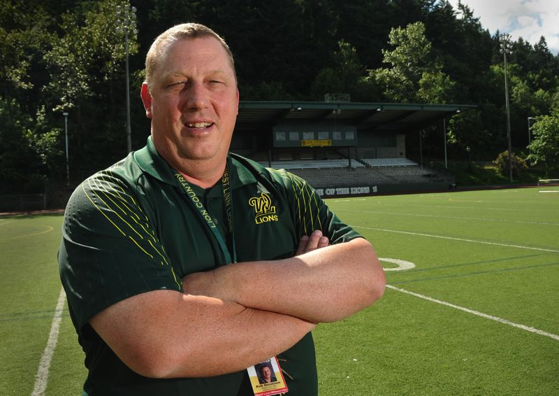 by: VERN UYETAKE - After 14 years as West Linn High School's athletic director, Rob Holstrom is retiring.