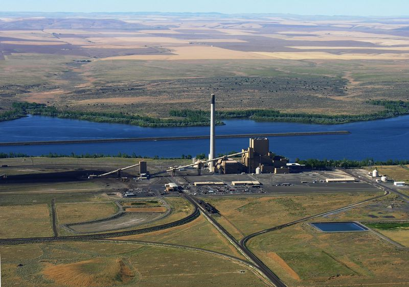 by: PHOTO COURTESY OF PGE - The Boardman coal plant in Eastern Oregon is the largest single source of carbon emissions in the state. Portland General Electric has committed to stop burning coal at the plant in 2020, which should reduce greenhouse gas emissions that lead to climate change.