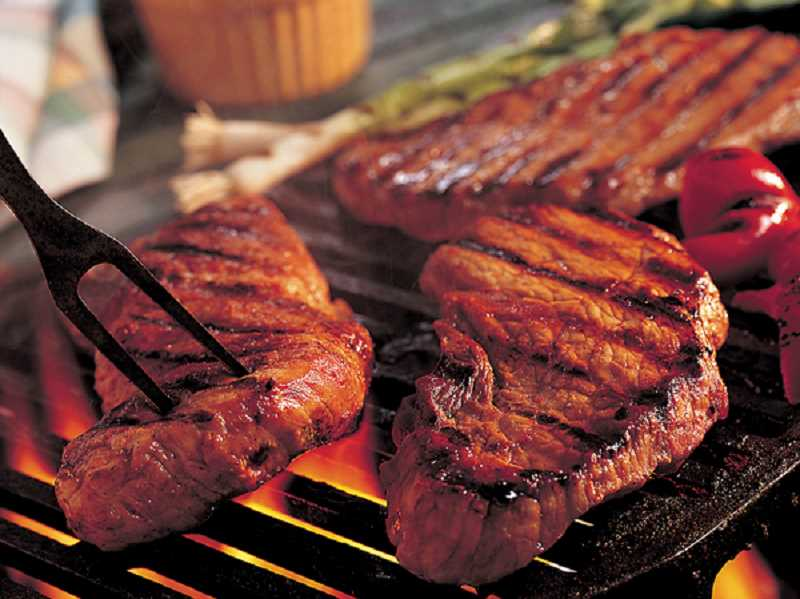 by: SUBMITTED PHOTO - Take over the grill from dad on Fathers Day. Follow the recipes for Stets Steak and Two-Tone Potato Salad and you will prepare a successful Dad-pleasing feast.