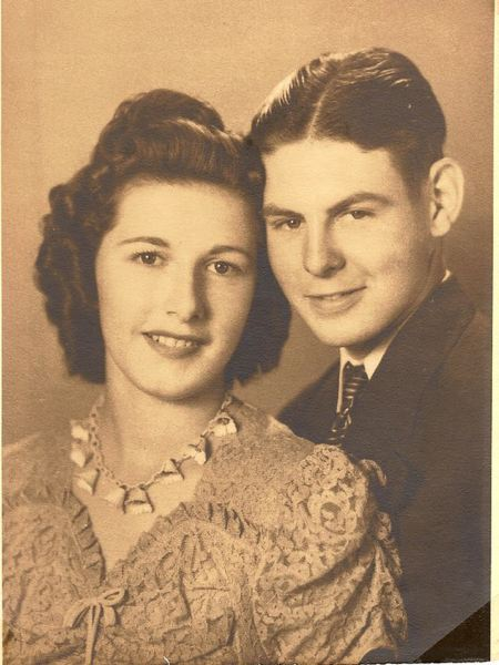 by: CONTRIBUTED PHOTO - Walter and Vivian McCoy - 1943