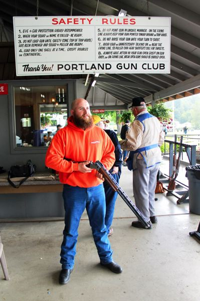 by: OUTLOOK PHOTO: CARI HACHMANN - Kelly Whitlock is president of the Portland Gun Club, 4711 S.E. 174th Ave.