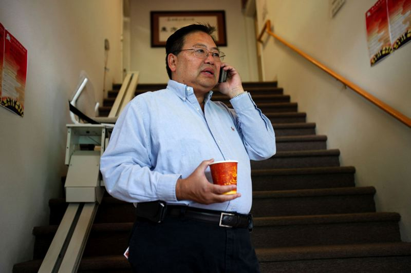 by: TRIBUNE FILE PHOTO - Stephen Ying would like to see redevelopment in Old Town/Chinatown.