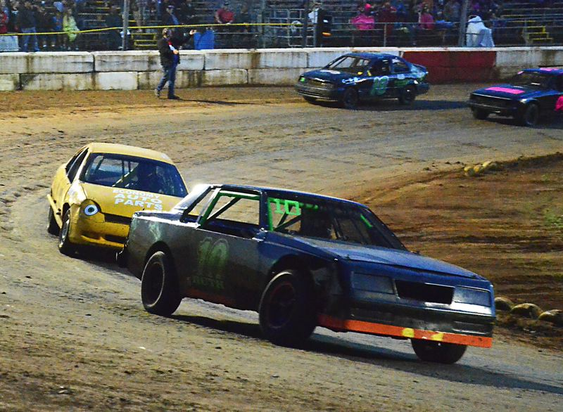 by: JOHN BREWINGTON - Brad Ruth had a start-to-finish win in the 4-Cylinder Division at River City Speedway on Saturday night. There was a good turnout of racers and some exciting racing under clear skies.