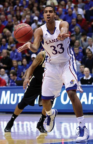 by: COURTESY PHOTO: KANSAS ATHLETICS - Lucas hopes his ability to make the extra pass and play unselfishly will get on the floor for extended minutes for the Kansas Jayhawks this coming season.