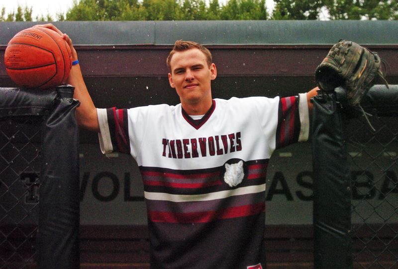 by: DAN BROOD - LOVING TUALATIN -- Connor Scott, a 2013 Tualatin High School graduate, says the support he got from teammates, coaches, family and the community of Tualatin were special to him during his time at the school.