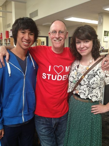 by: CONTRIBUTED PHOTO: SCOTT LIPNER - Lipner bid adieu to his last class of Gresham High students last week.