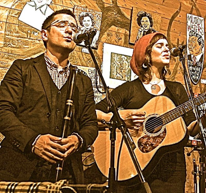 by: CONTRIBUTED PHOTO - Hanz Araki and Kathryn Claire will join to create some extraordinary Celtic music during one of the Sunday concerts in Meinig Park.