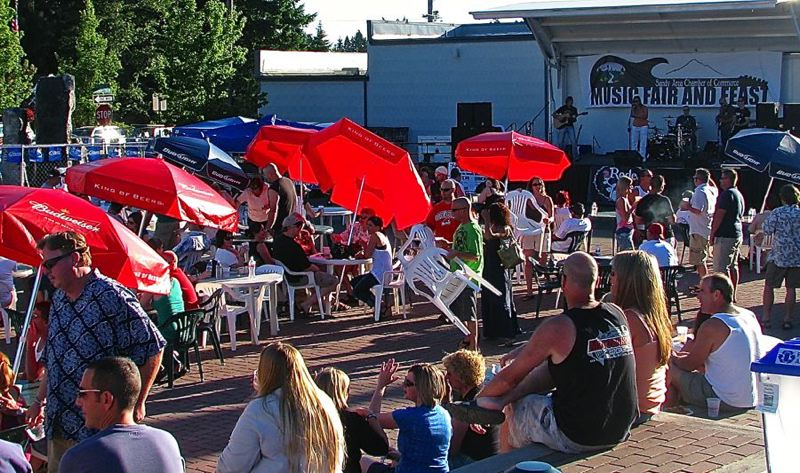 by: CONTRIBUTED PHOTO - Its summer, and that means its time for the Music Fair and Feast, beginning as soon as the Sandy Mountain Festival Parade ends, with entertainment and a wide variety of food for four days, July 11-14.