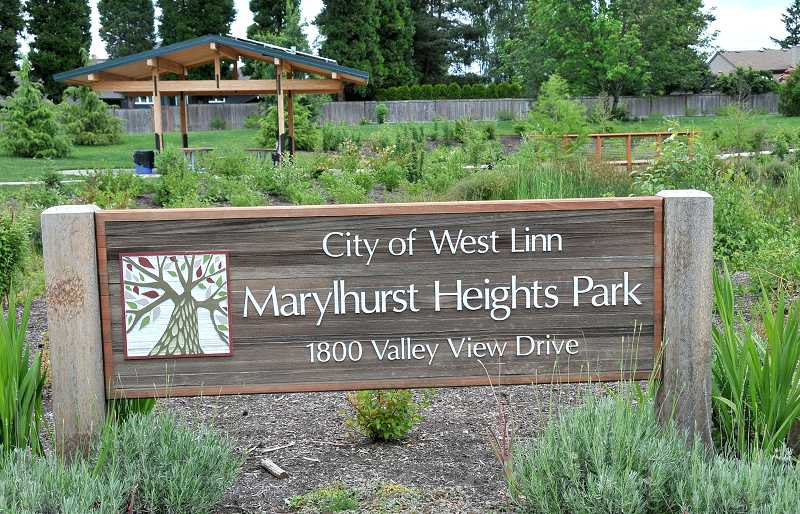 by: TIDINGS PHOTO: VERN UYETAKE - Marylhurst Heights Park, which opened to the public in May 2012, recently saw the completion of its second phase of construction.
