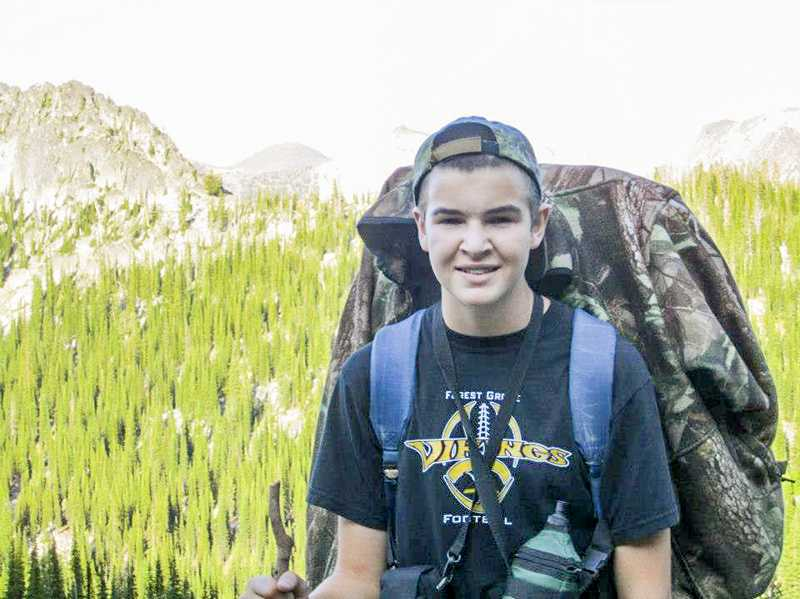 by: COURTESY PHOTO - Andrew Van Dyke will be one of the lucky few hunters this year to stalk a bighorn ram--with help from his dad and grandad--in central Oregon this summer.