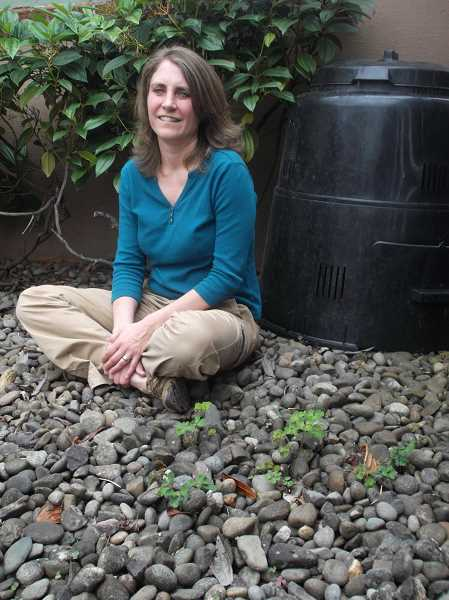 by: POST PHOTO: NEIL ZAWICKI - Dawn Loomis spends her free time helping people recycle and live more simply.