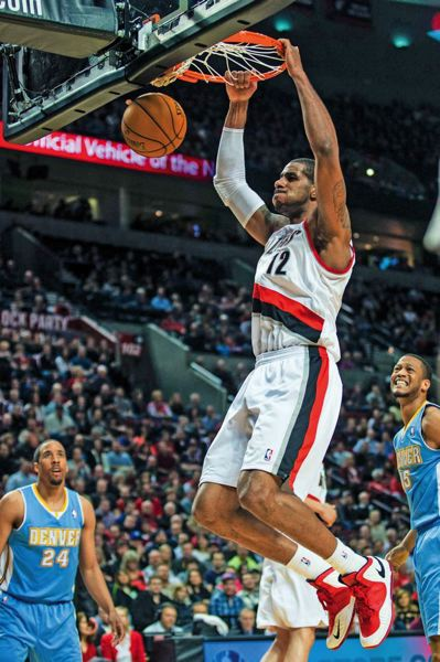 by: TRIBUNE FILE PHOTO: CHRISTOPHER ONSTOTT - LaMarcus Aldridge can't complain if he gets traded, says Tribune columnist Kerry Eggers.