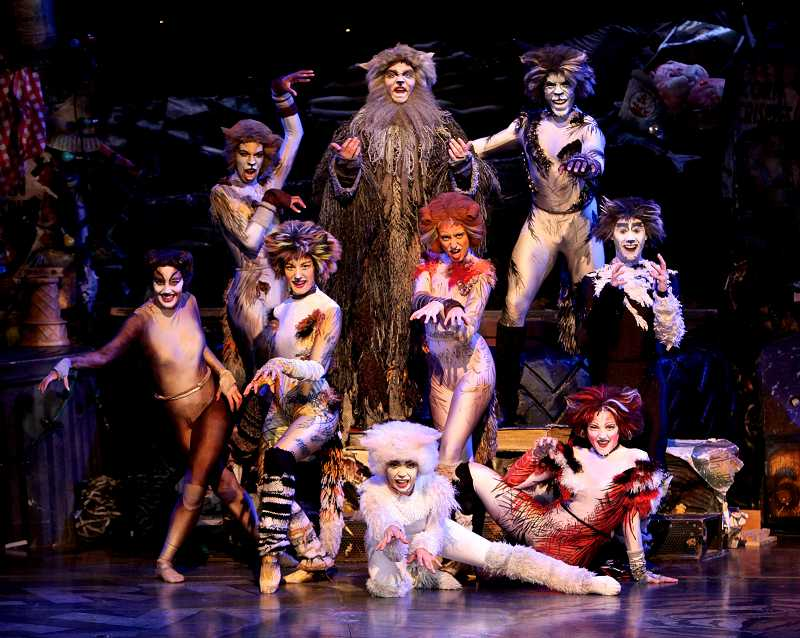 by: COURTESY PHOTO: CRAIG MITCHELLDYER - Broadway Rose Theatre Company continues its 2013 Season of Memories with the Broadway phenomenon CATS. Based on T.S. Eliots Old Possums Book of Practical Cats with music by Andrew Lloyd Webber.