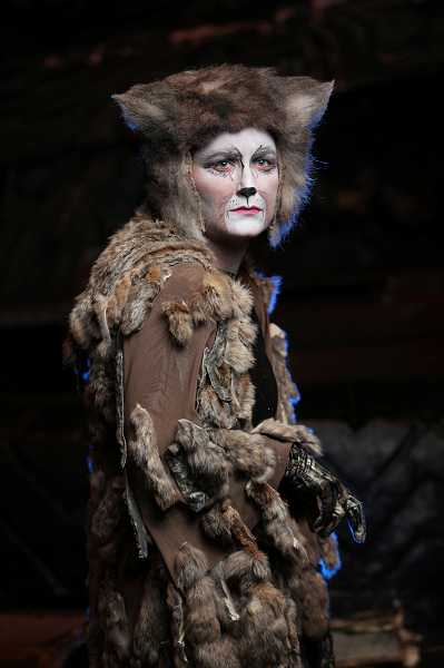 by: COURTESY PHOTO: CRAIG MITCHELLDYER - Amy Jo Halliday makes a total transformation from her role as Anna in Broadway Roses' The King and I to the role of Grizabella in CATS.