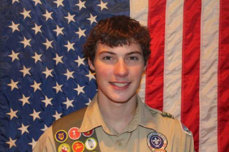 by: SUBMITTED PHOTO - Bethany resident Jordan Anderson recently received his Eagle Scout award.