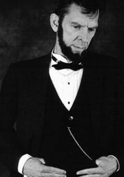 by: COURTESY PHOTO - Actor Steve Holgate will perform as Abraham Lincoln, the 16th president of the United States, in a play at HART Theatre in Hillsboro July 5 and 6.