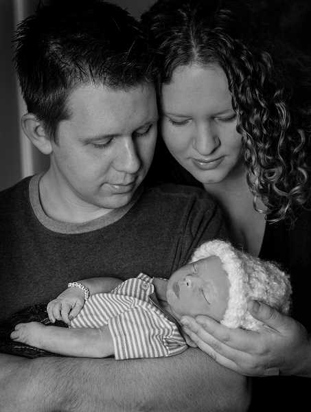 by: JAMIE FORSYTHE - 'Our family believes that Sawyer's life began at conception, and that God ordained those days in my belly before one of them even came to be, that he knew it would be us who cried at Sawyer's birth and not our sweet son. But we are loved by a God who knows and understands all, sees the whole picture and who will never leave us.' - Natalee Duffy