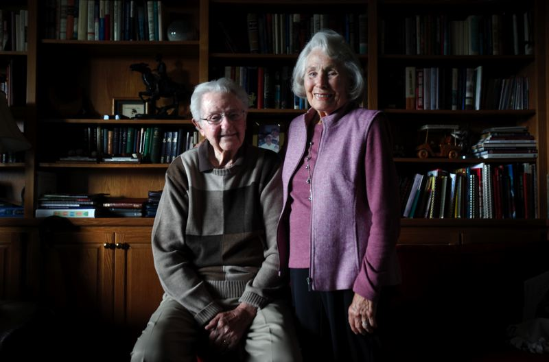 by: TIMES PHOTO: JONATHAN HOUSE - Bryant and Afton Alder of Bethany celebrated their 70th wedding anniversary on Friday, June 28.