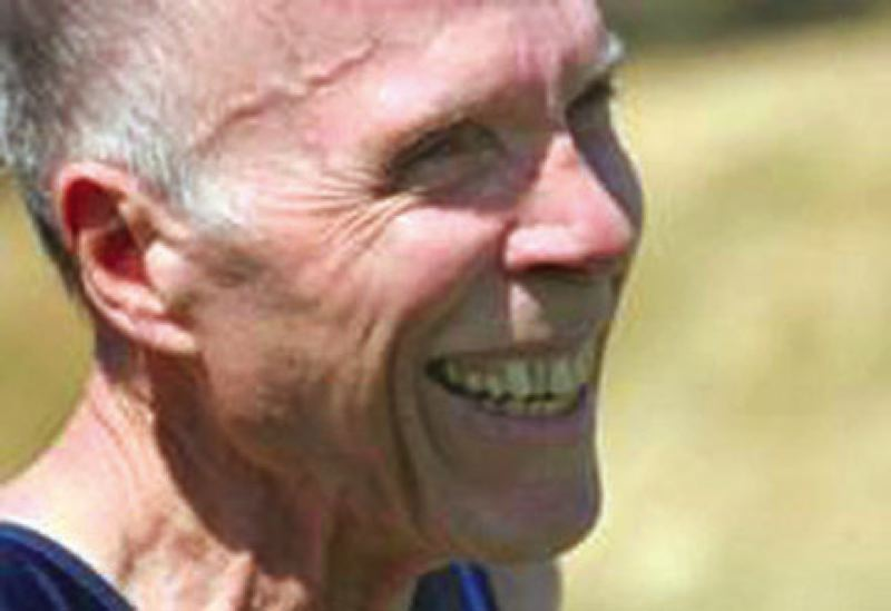 by: CONTRIBUTED PHOTO - Bob Hewitt scored the most points in the long jump during the opening day of competition.