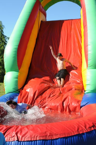 by: PHOTO COURTESY: BCT - This year's annual Backyard Bash organized by Beaver Creek Cooperative Telephone Company will also feature a water slide.