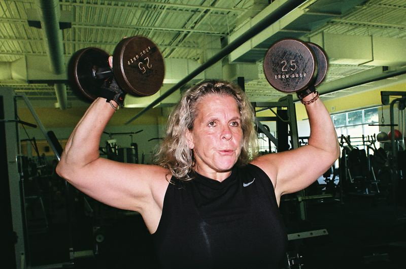 by: JOHN DENNY - Monica Kendalls passion for track and field and her dedication to physical fitness has lead to a new American age-group record for the shot put. Kendall, 57, works out two hours a day at LA Fitness in Milwaukie.