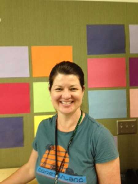 Stacie Erdahl, third-grade teacher