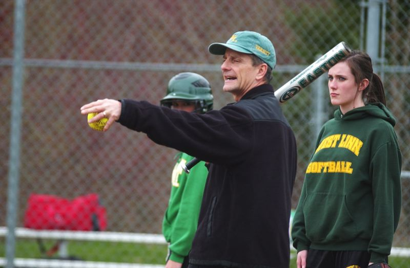 by: MATTHEW SHERMAN - Longtime softball coach Jamie LeVeque recently retired from teaching and coaching at West Linn High School.
