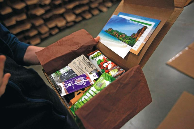 by:  PAMPLIN MEDIA GROUP: JONATHAN HOUSE - Conscious Box sent out more 10,000 of these product mixes last month to its sustainability-oriented customers.