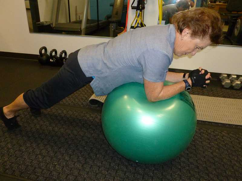 by: SUBMITTED - Get fit at the adult community center by using a personal trainer.