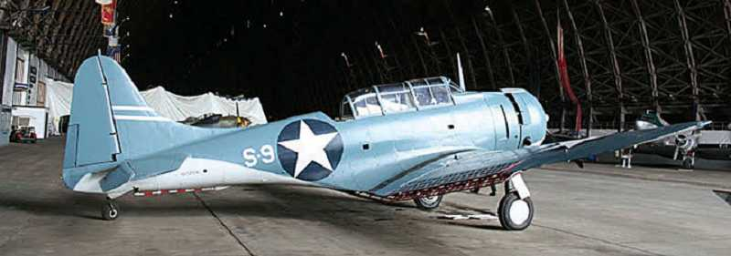 by: SUBMITTED PHOTO - The Douglas SBD Dauntless is one of four World War II aircraft from the Tillamook Naval Air Museum that will be in Madras for the Airshow of the Cascades Aug. 23-24.