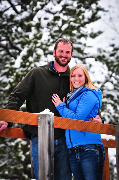 Emily Slayton and Brian Gemar