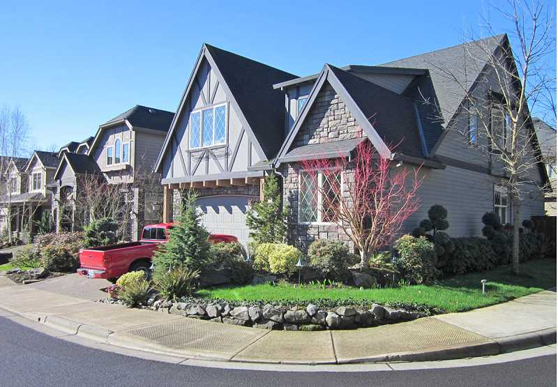 by: FILE PHOTO/REGAL COURIER - A NEW CASTLE COMING? - Timberland Homes has built other Castle Oaks developments near where it proposes to build another one with attached homes in King City.