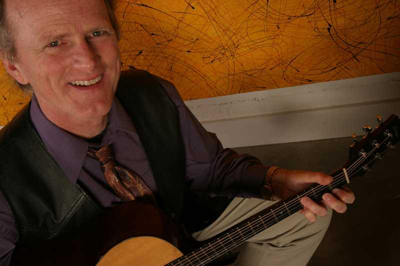 by: SUBMITTED PHOTO  - West Linn musician Mark Harmon will present a concert as the culimination of his annual Accent on Music guitar seminar.