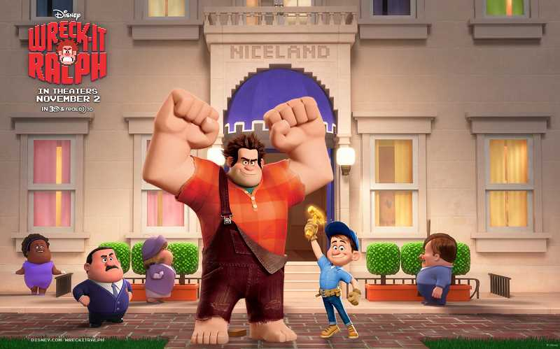 by: SUBMITTED PHOTO - Wreck It Ralph opens the Lake Oswego Movies in the Park series tonight at Millennium Plaza Park.
