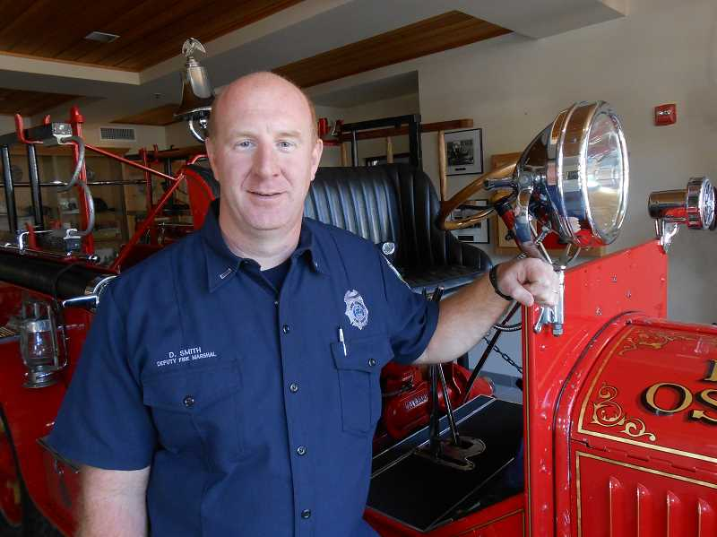 by: CLIFF NEWELL - David Smith will bring a long family tradition to the Lake Oswego Fire Department. He is the fourth member of his family to be a firefighter.