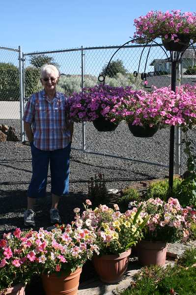 The garden of Madras resident Doris Schledewitz will be on the tour.
