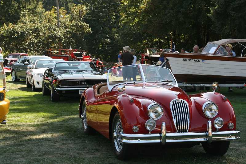 by: JUDE GRAHAM - There will be 300 collector cars on display at the Lake Oswego Heritage Council show. A car parade down State Street on Aug. 18 will be a highlight of the event.