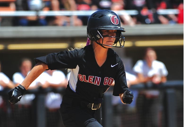 by: HILLSBORO TRIBUNE PHOTO: ZACK PALMER - Macy Besuyen, a rising sophomore at Glencoe, is in California this week for a national softball tournament with the Northwest Blaze.