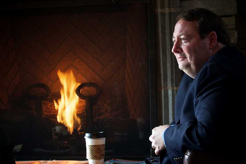Tigard Mayor John L. Cook has been holding monthly coffee sessions with residents since taking office earlier this year. The Fireside Chats are moving to a new location and time this week.